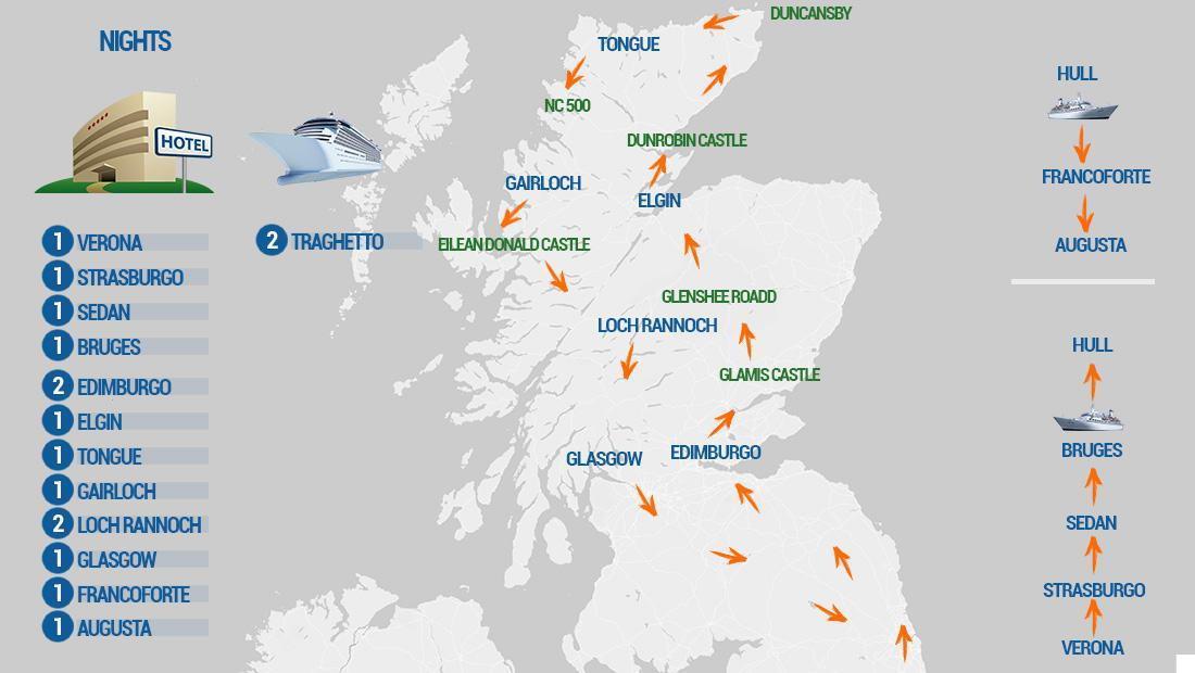Cartina Scozia Pdf.Scozia Kilt Road Motoexplora Viaggi In Moto